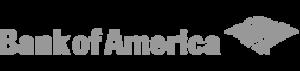 The Bank of America logo.