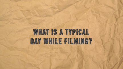 Q & A: Typical Day